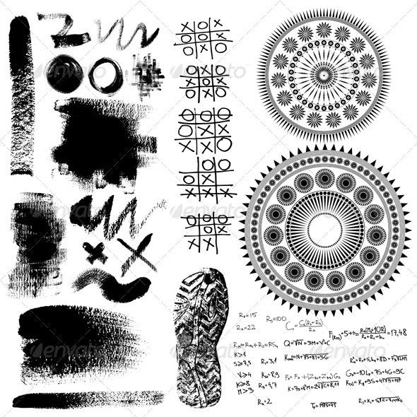 Design elements collection - Miscellaneous Vectors