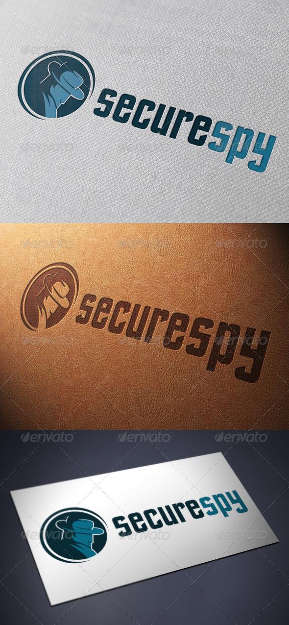 Secure Spy Logo Template - Humans Logo Templates