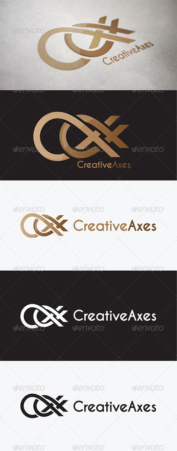 Creative-Axxes Logo - Vector Abstract