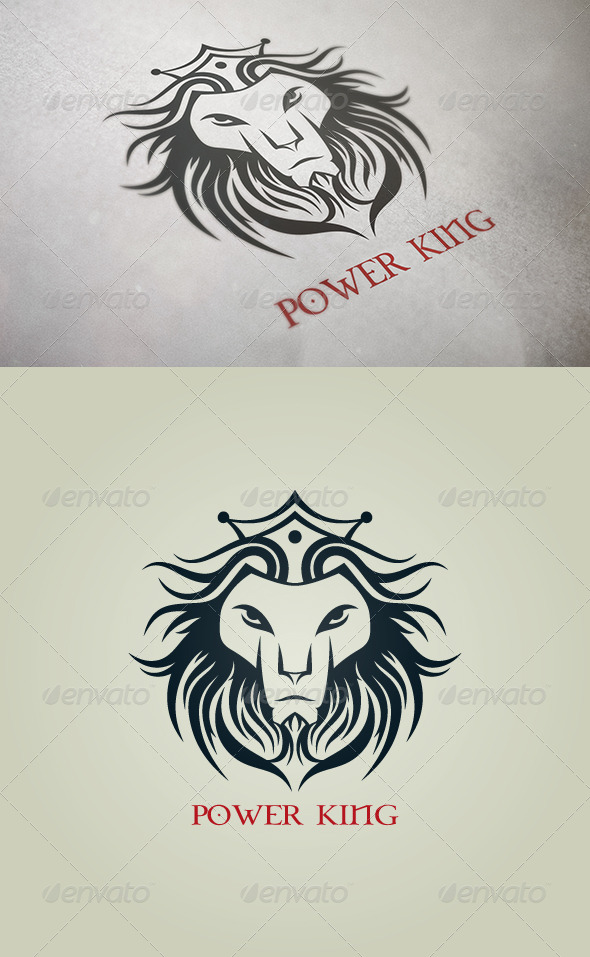 Power King - Animals Logo Templates
