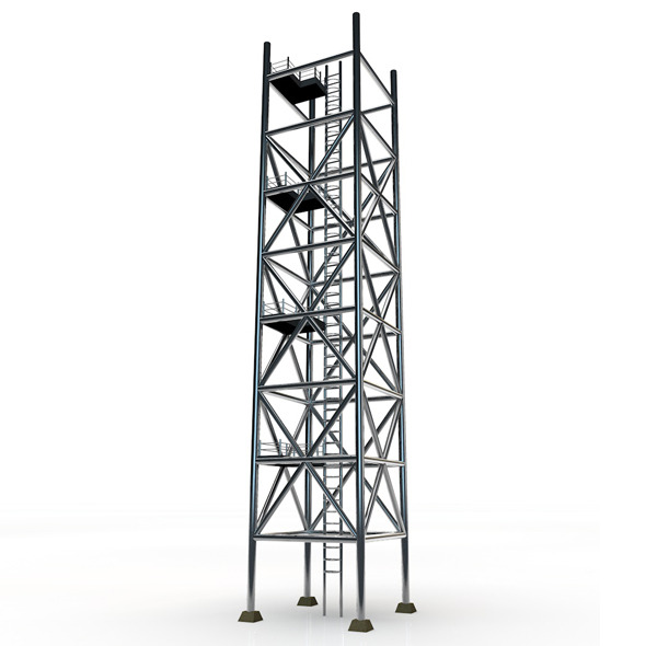 Scaffolding Tower - 3DOcean Item for Sale