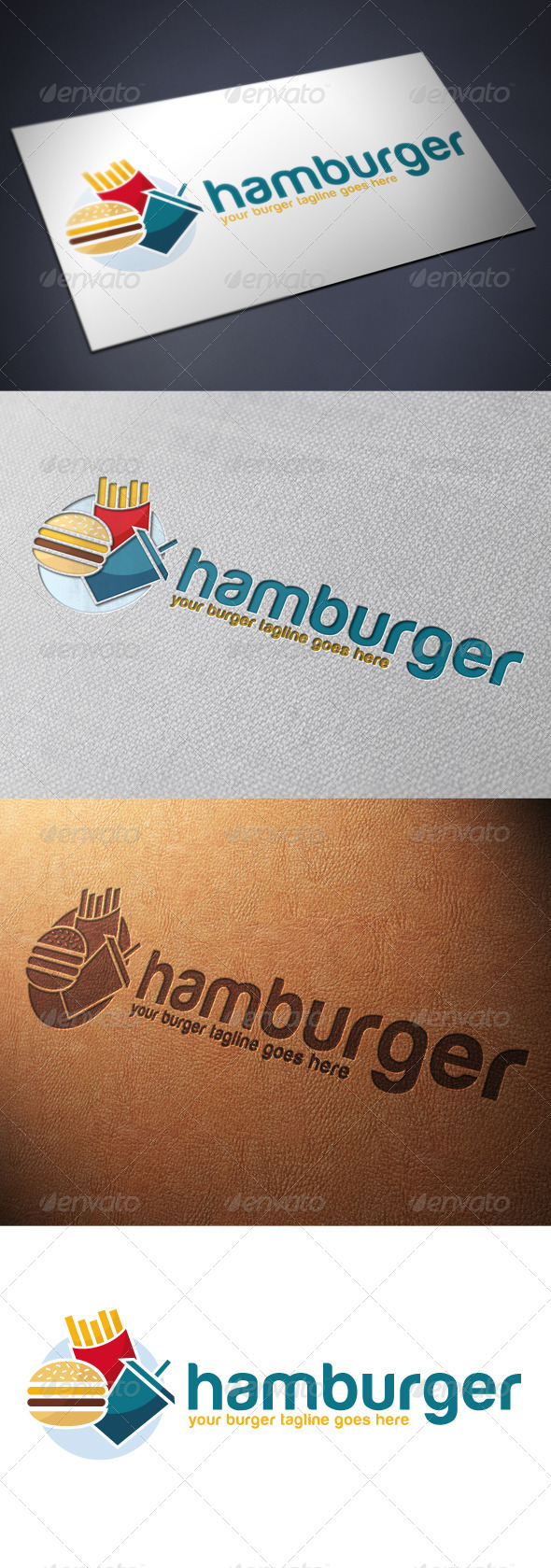 Burger Logo Template - Food Logo Templates