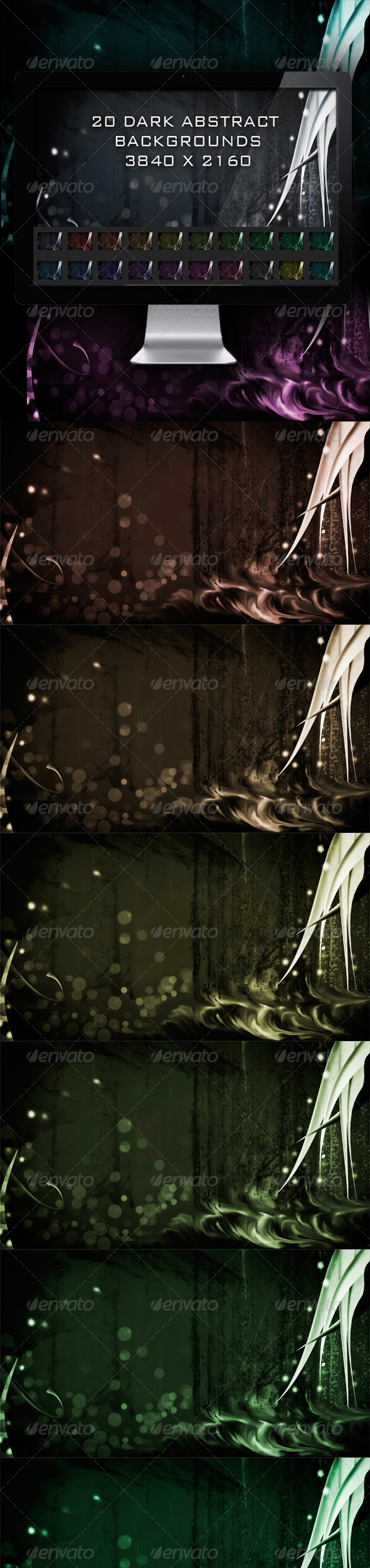20 Dark Abstract Backgrounds - Abstract Backgrounds