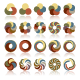 Abstract Circular Design Elements - GraphicRiver Item for Sale
