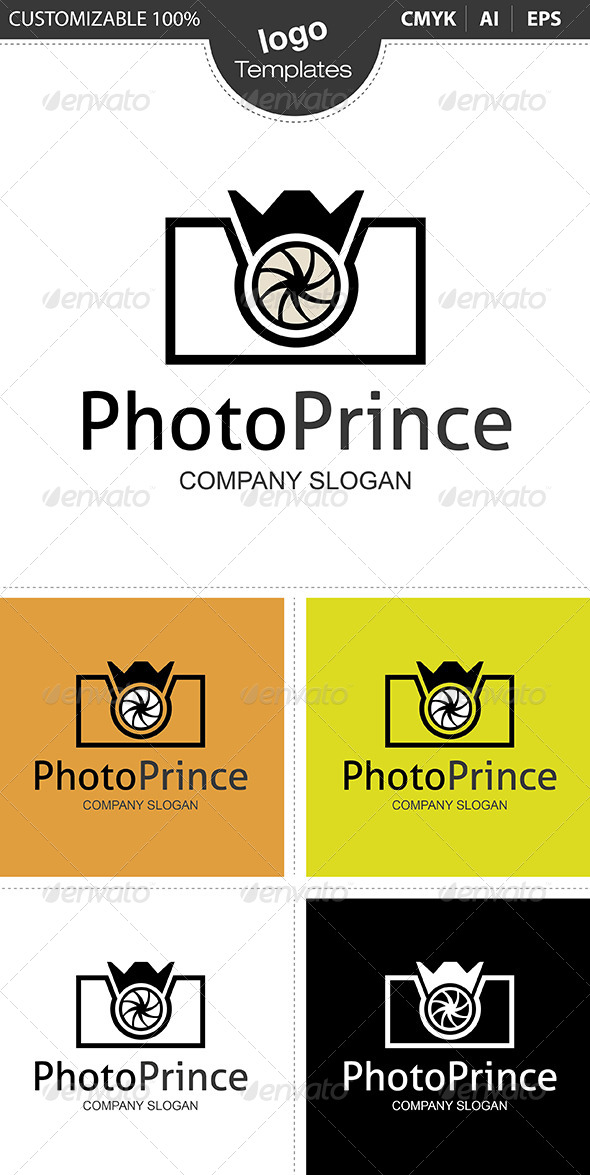 PhotoPrince Logo - Objects Logo Templates