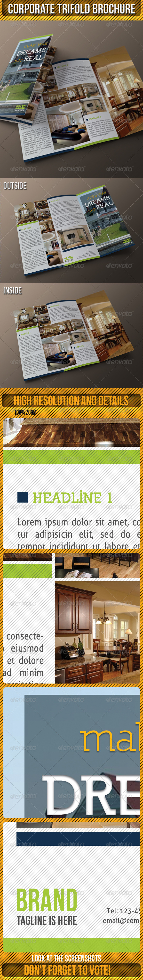 Corporate 3-Fold Brochure - Corporate Brochures
