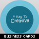 Creative Media Business Cards - GraphicRiver Item for Sale