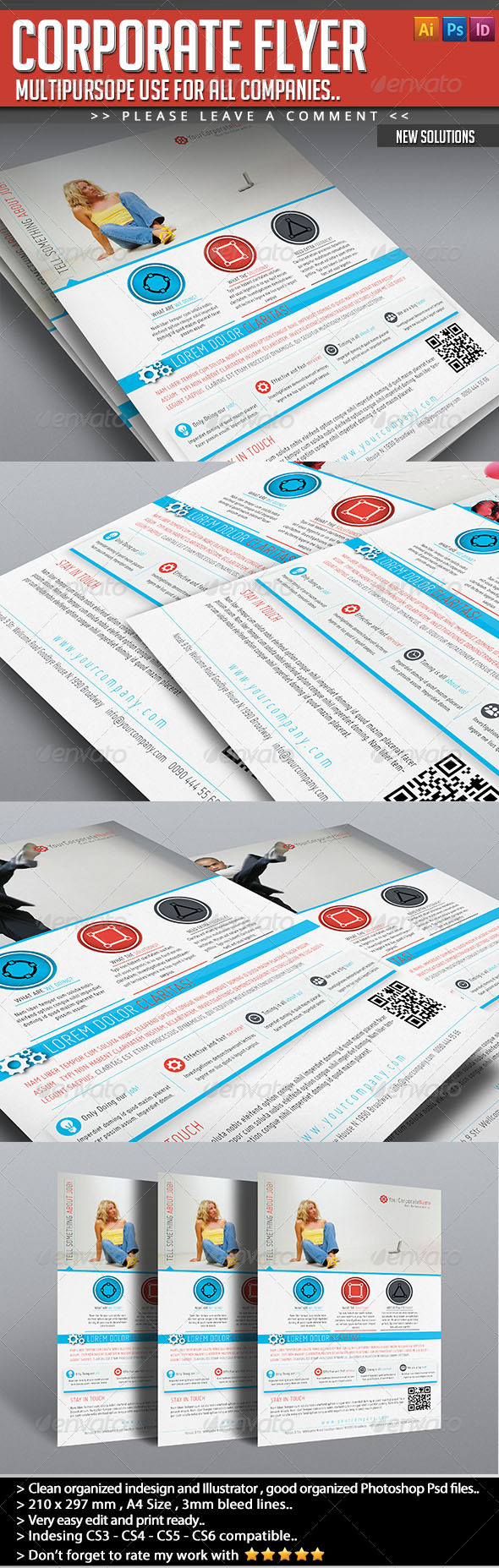 Corporate Flyer - New Solutions - Corporate Flyers