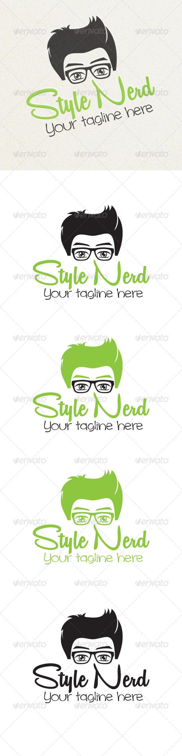 Style Nerd - Humans Logo Templates