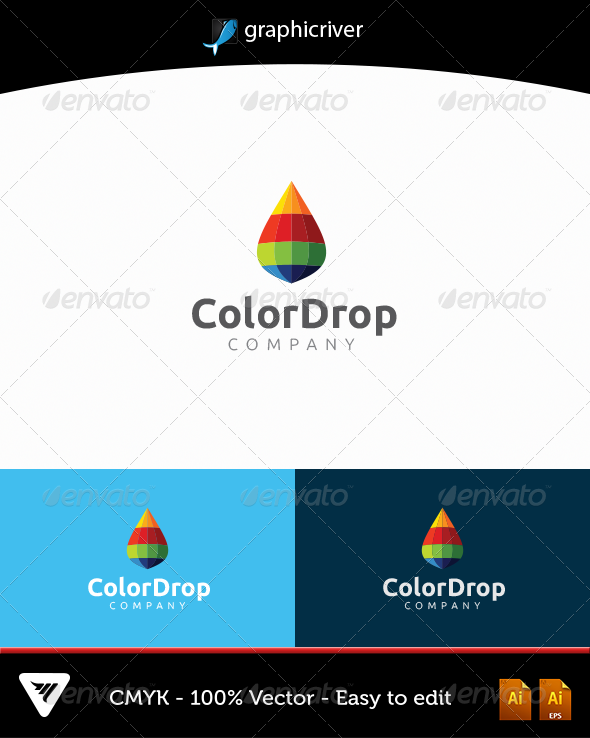 Colordrop - Logo Templates