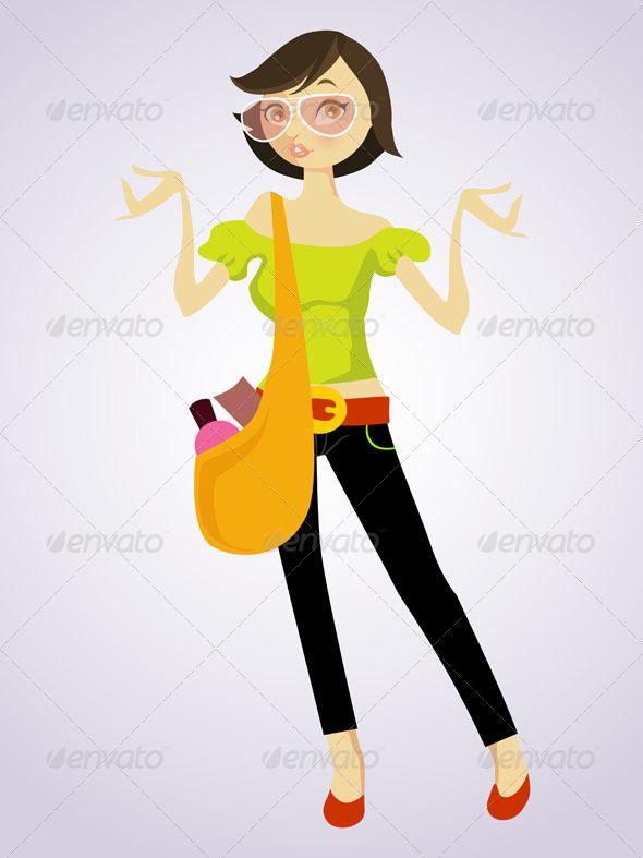 Shopping Model - Characters Vectors