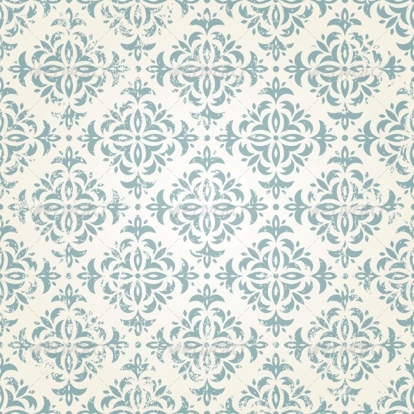 Seamless Vintage Wallpaper - Patterns Decorative