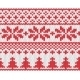 Christmas Knitted Background - GraphicRiver Item for Sale