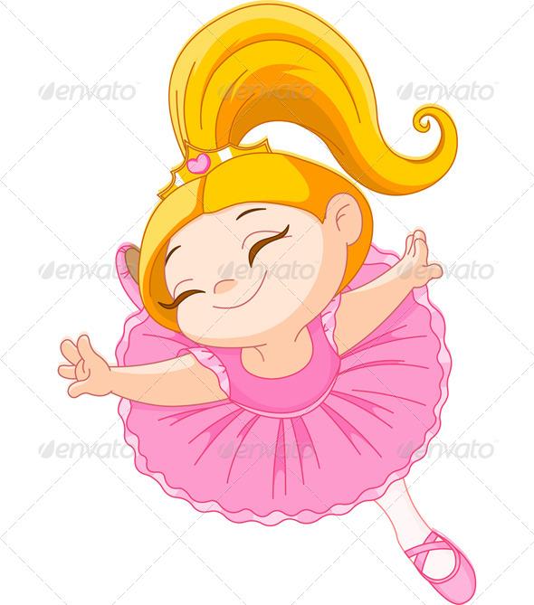 Little Ballerina - People Characters