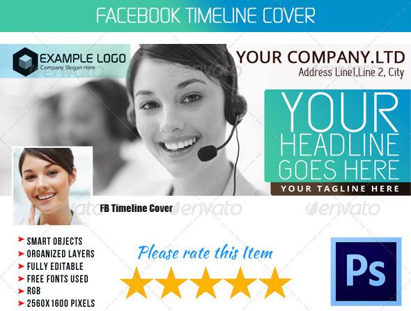 Corporate FB Timeline Cover 06 - Facebook Timeline Covers Social Media