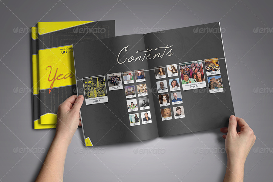 Year Book Template. iso yearbook templates digishoptalk digital ...