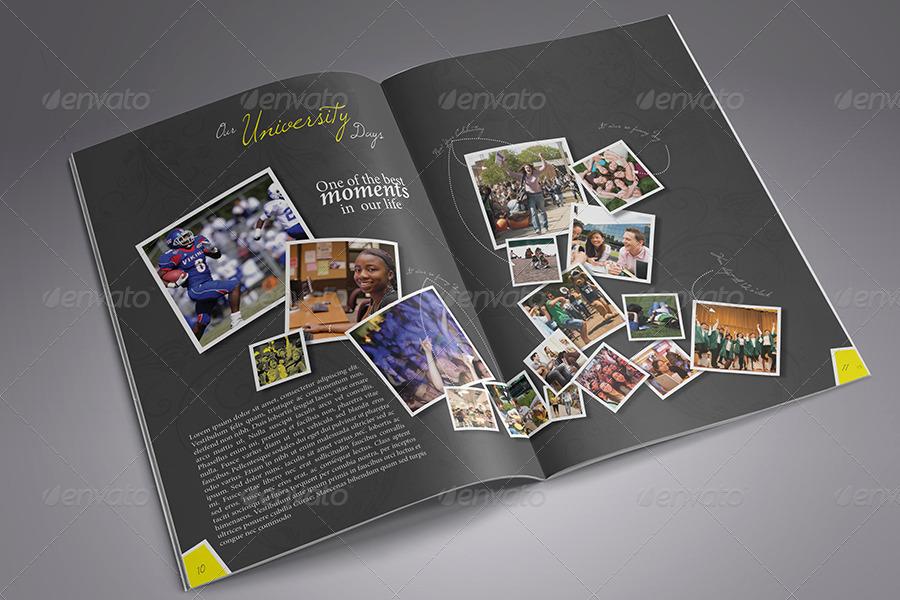 Modern Yearbook Template By Zheksha Graphicriver
