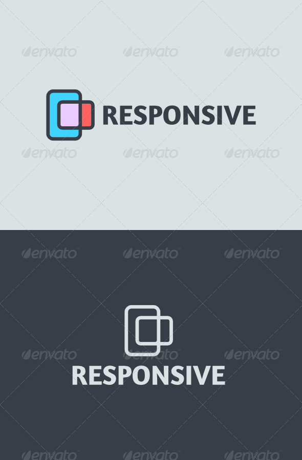 Responsive Logo - Abstract Logo Templates