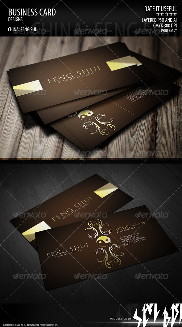 Business card 001 - Business Cards Print Templates