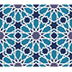 Arabesque Seamless Pattern in Blue and Grey - GraphicRiver Item for Sale