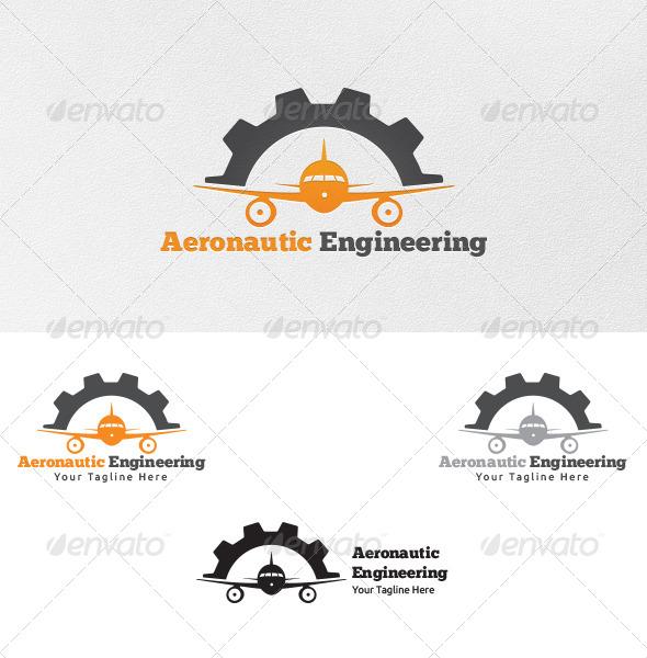 Aeronautic Engineering - Logo Template - Symbols Logo Templates