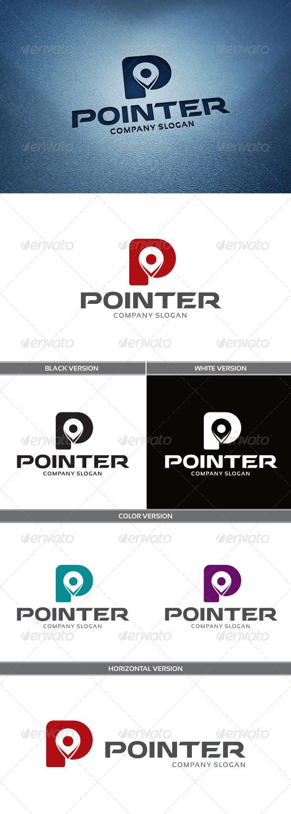 Pointer Logo - Letters Logo Templates