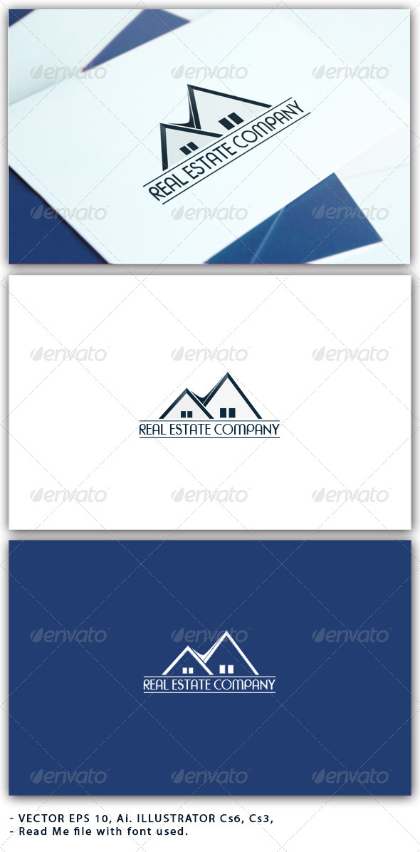 Real Estate Company - Buildings Logo Templates