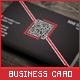 Creative QR Code Business Card - GraphicRiver Item for Sale