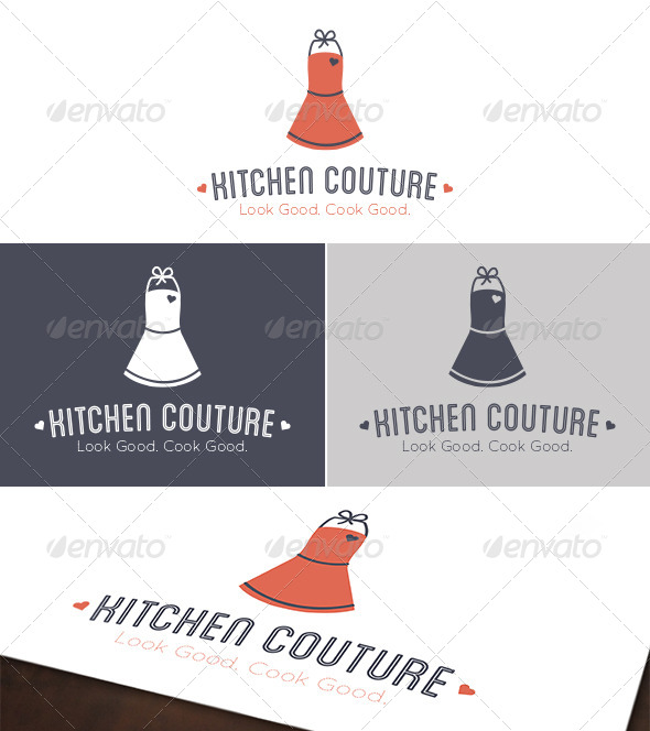 Kitchen Couture Logo - Objects Logo Templates