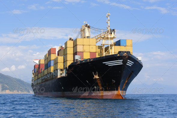 container ship - Stock Photo - Images