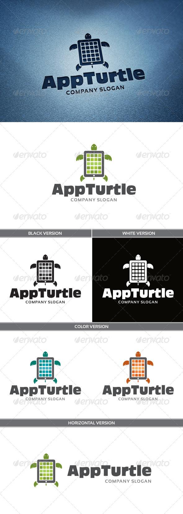 AppTurtle Logo - Objects Logo Templates
