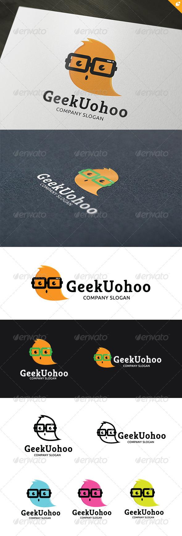 Geek Uohoo Logo - Animals Logo Templates
