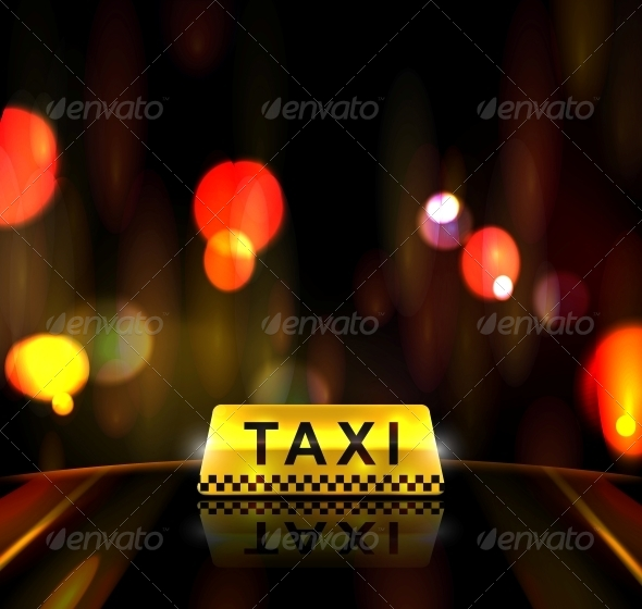 Taxi Service in City - Services Commercial / Shopping