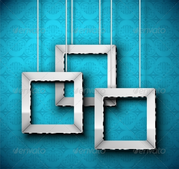 Hanging Frame - Borders Decorative