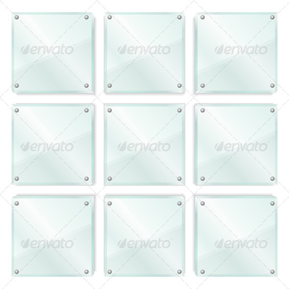Glass Frames - Objects Vectors