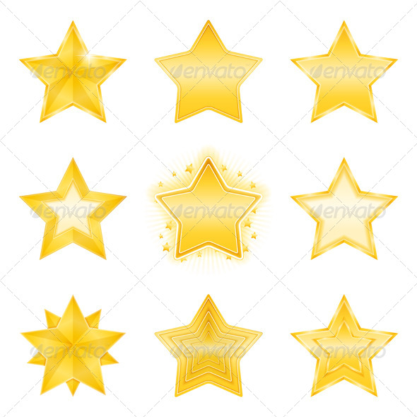 Stars - Web Elements Vectors