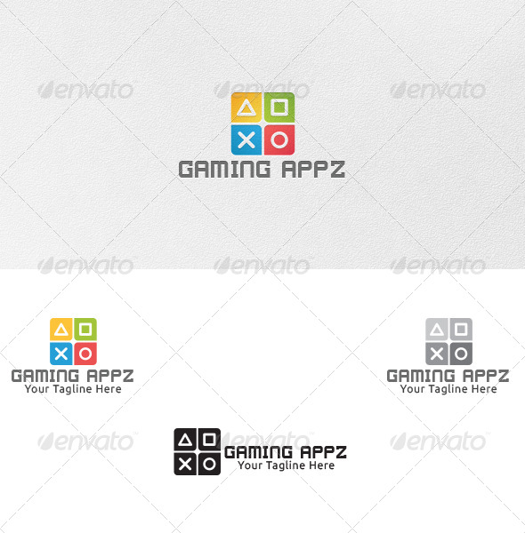Gaming Apps - Logo Template - Symbols Logo Templates