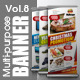 Multipurpose Promotional Banner Vol.8 - GraphicRiver Item for Sale