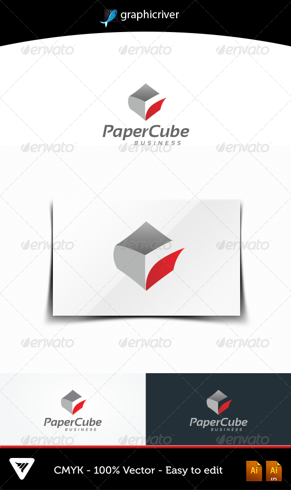 PaperCube - Logo Templates