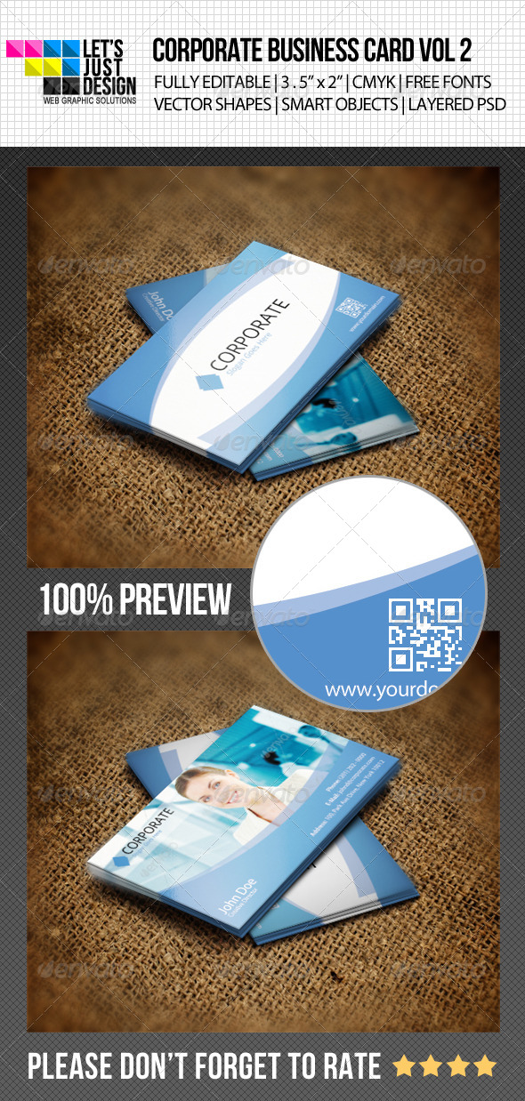 Corporate Business Card Vol 2 - Corporate Business Cards