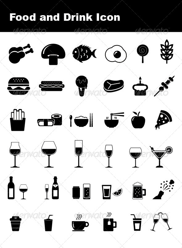 Food and Drink Icon - Icons