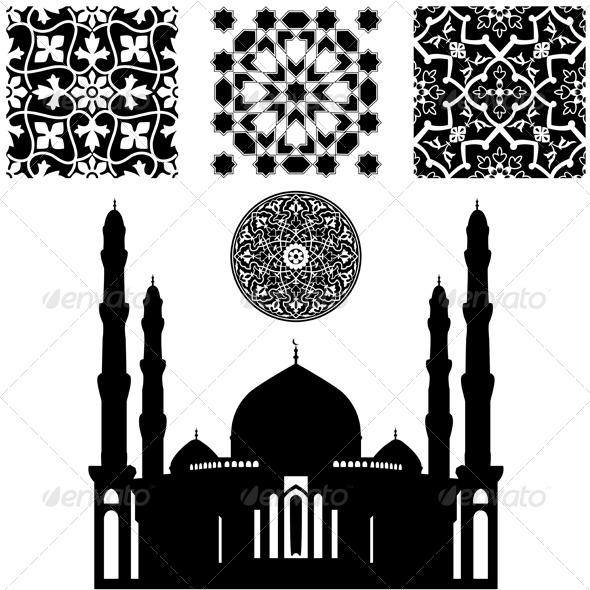 Islamic Pattern - Backgrounds Decorative