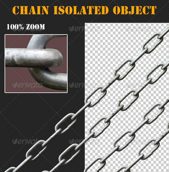 Chain Isolated Object - Industrial & Science Isolated Objects