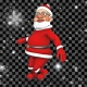 3D Santa Dance 2 (Alpha Loop) - VideoHive Item for Sale