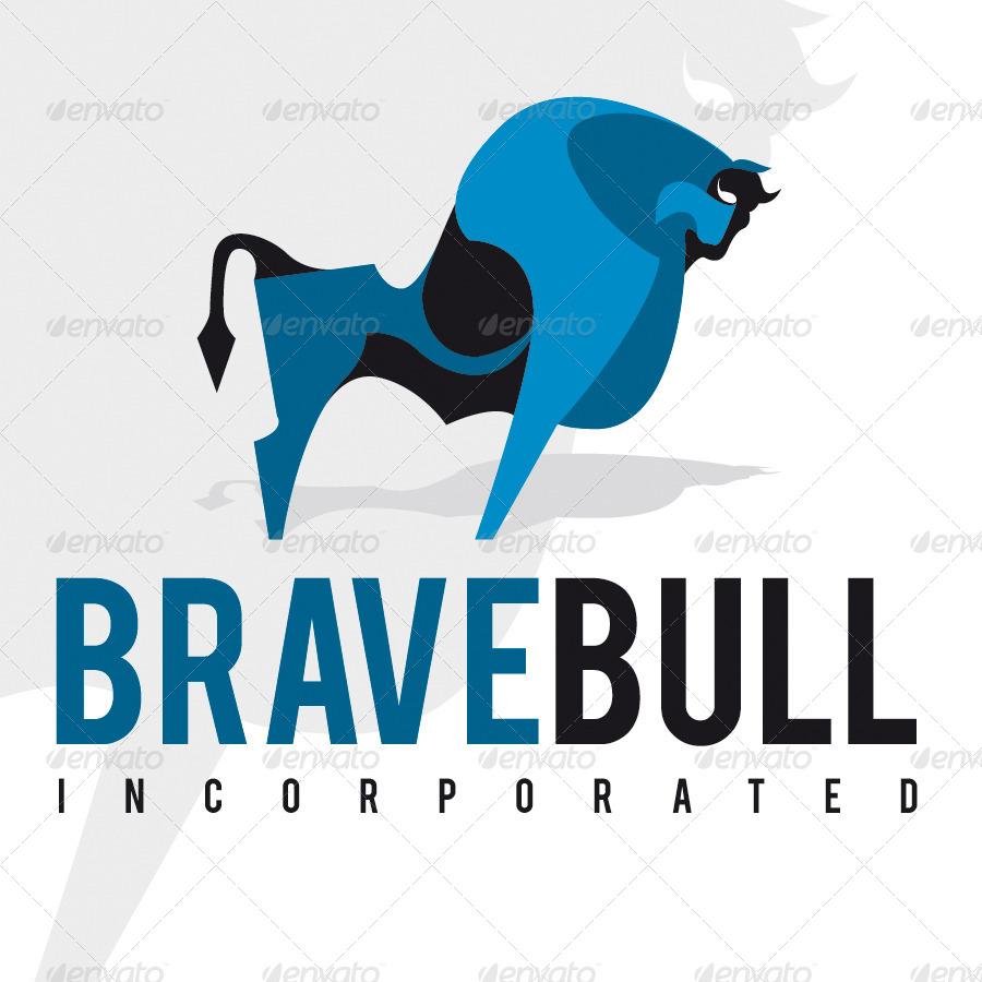 Brave Bull Logo By Aurove