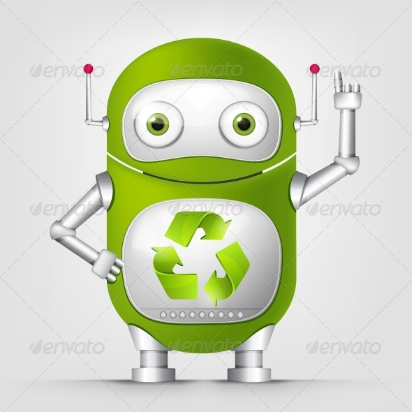 Green Robot - Computers Technology