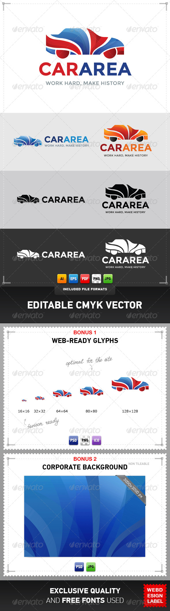 Car Area Logo - Objects Logo Templates