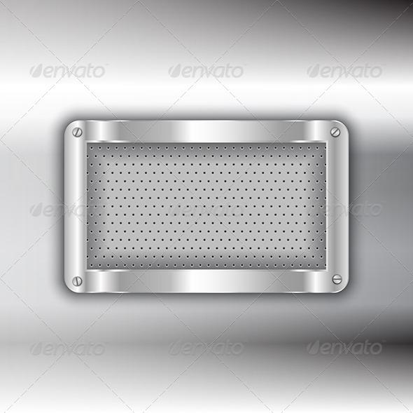 Metallic Background - Backgrounds Decorative