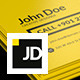 Personal Bussiness Card Template - GraphicRiver Item for Sale