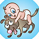 Shoulder Babies! - GraphicRiver Item for Sale